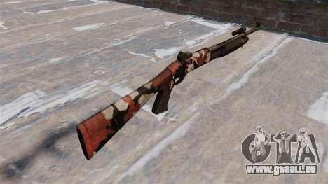 Ружье Benelli M3 Super 90 blutunterlaufenen für GTA 4 Sekunden Bildschirm