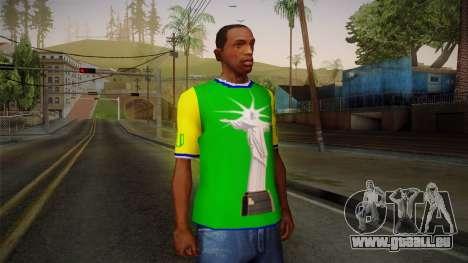 RIO T-Shirt pour GTA San Andreas