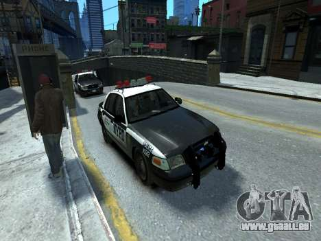 Ford Crown Victoria Police NYPD 2014 pour GTA 4