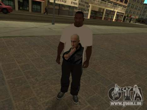 T-Shirt Enseignant pour GTA San Andreas