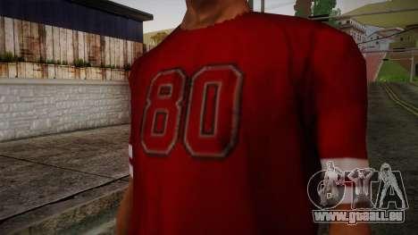 Kehed T-Shirt pour GTA San Andreas troisième écran