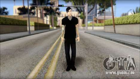 Billy from Good Charlotte pour GTA San Andreas
