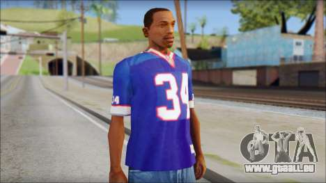 NY Buffalo Bills Blue für GTA San Andreas