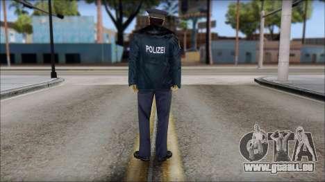 Deutscher Polizist für GTA San Andreas zweiten Screenshot
