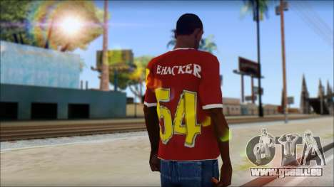 Cenation EHacker Shirt für GTA San Andreas zweiten Screenshot
