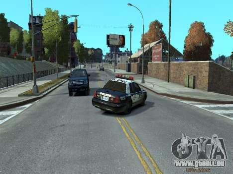 Ford Crown Victoria Police NYPD 2014 für GTA 4 rechte Ansicht