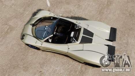Pagani Zonda C12S Roadster 2001 v1.1 PJ1 pour GTA 4 est un droit