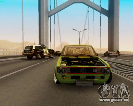 Volkswagen Golf Mk I pour GTA San Andreas