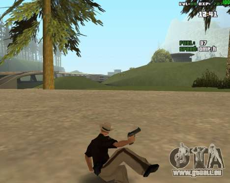Standing Somersault pour GTA San Andreas