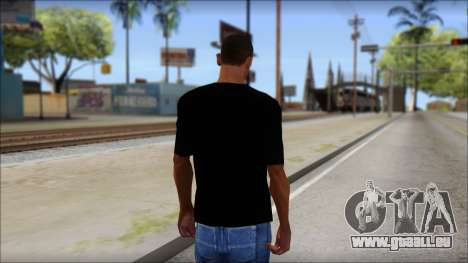 Metallica Master Of Puppets T-Shirt für GTA San Andreas zweiten Screenshot