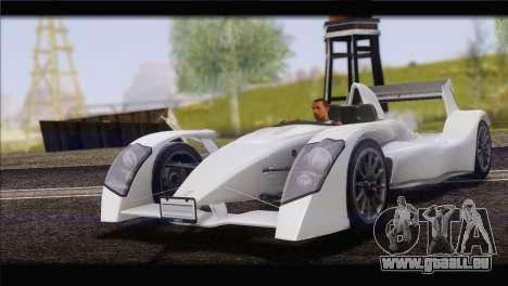 Caparo T1 2012 für GTA San Andreas