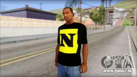 WWE Nexus T-Shirt für GTA San Andreas