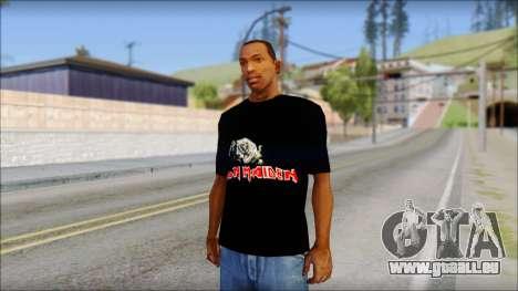 Iron Maiden T-Shirt pour GTA San Andreas