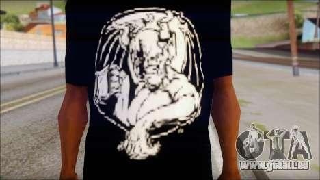 Diablo T-Shirt pour GTA San Andreas troisième écran
