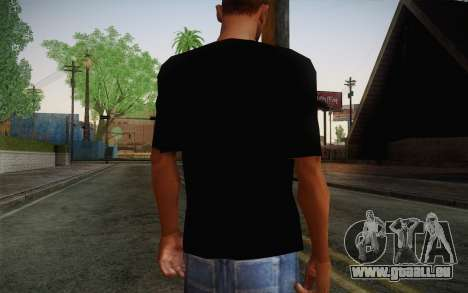 Batman Swag Shirt für GTA San Andreas zweiten Screenshot