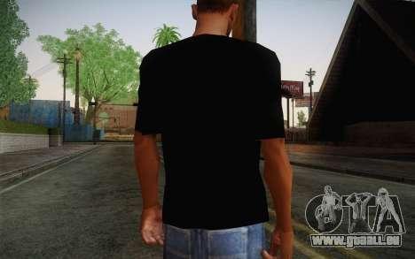 Batman Swag Shirt pour GTA San Andreas deuxième écran