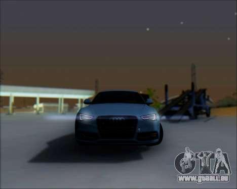 Audi A7 pour GTA San Andreas vue de côté