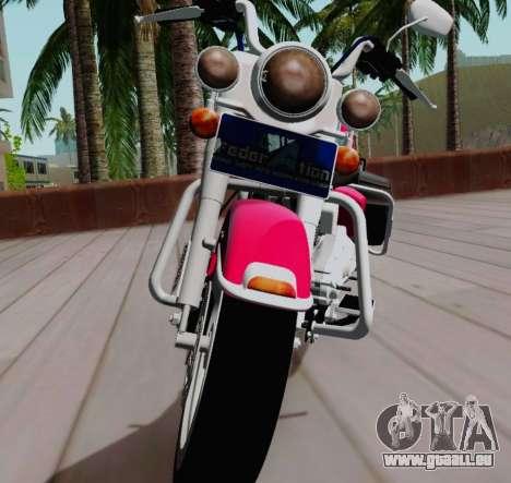 Harley-Davidson Road King Classic 2011 für GTA San Andreas rechten Ansicht
