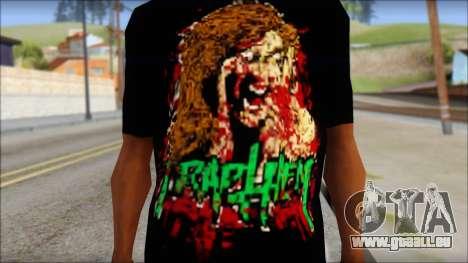 Trapheim T-Shirt Mod pour GTA San Andreas troisième écran