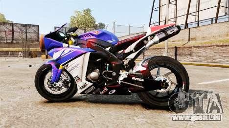 Yamaha YZF-R1 PJ1 für GTA 4 linke Ansicht