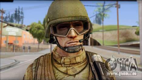 Desert GROM from Soldier Front 2 für GTA San Andreas dritten Screenshot