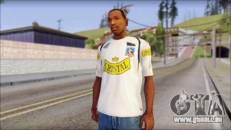 Colo Colo 09 T-Shirt pour GTA San Andreas