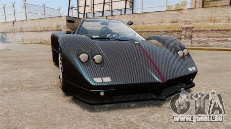 Pagani Zonda C12S Roadster 2001 v1.1 PJ3 für GTA 4