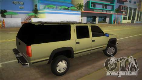 Chevrolet Suburban 1996 GMT400 für GTA Vice City linke Ansicht