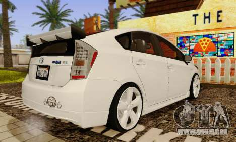 Toyota Prius Tunable pour GTA San Andreas vue de côté