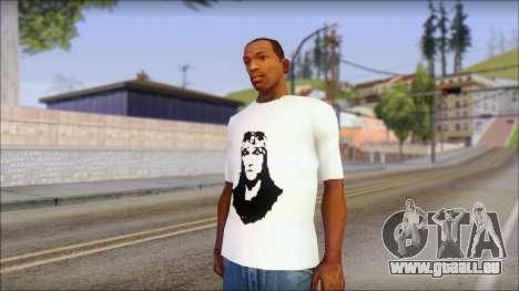 Axl Rose T-Shirt Mod pour GTA San Andreas