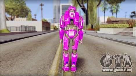 Masterchief Purple from Halo für GTA San Andreas zweiten Screenshot