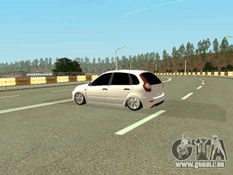Lada Kalina 2 für GTA San Andreas zurück linke Ansicht