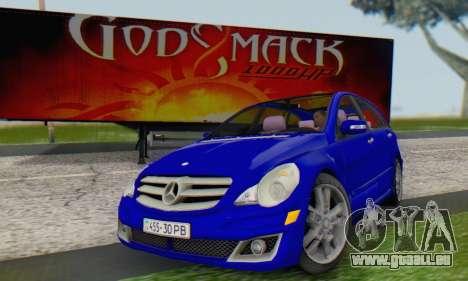 Mercedes-Benz R350 pour GTA San Andreas vue de droite