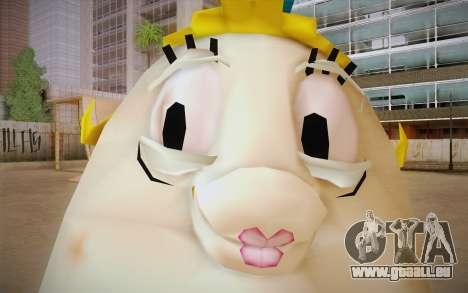 Mrs. Puff from Sponge Bob pour GTA San Andreas troisième écran