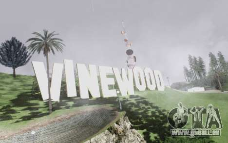 Graphical shell for SA pour GTA San Andreas huitième écran