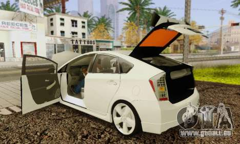 Toyota Prius Tunable pour GTA San Andreas salon