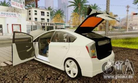 Toyota Prius Tunable für GTA San Andreas Innen