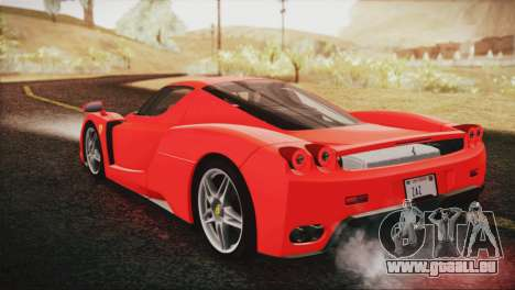Ferrari Enzo 2002 für GTA San Andreas linke Ansicht