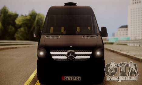 Mercedes-Benz Sprinter 315 CDi für GTA San Andreas zurück linke Ansicht
