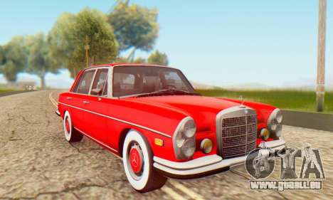 Mercedes-Benz 300SEL Stock 1972 für GTA San Andreas