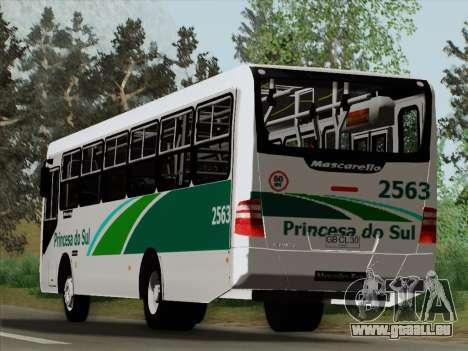 Mascarello Gran Via Mercedes-Benz OF1418 für GTA San Andreas Unteransicht