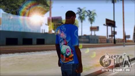Fish T-Shirt pour GTA San Andreas deuxième écran