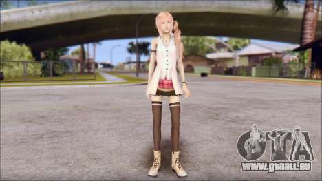 Final Fantasy XIII - Lightning Casual für GTA San Andreas