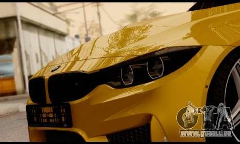 BMW M4 pour GTA San Andreas vue de côté