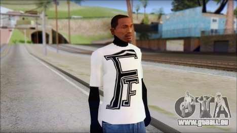 Fabri Fibra T-Shirt pour GTA San Andreas