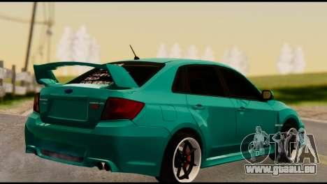 Subaru Impreza Stance Works für GTA San Andreas linke Ansicht