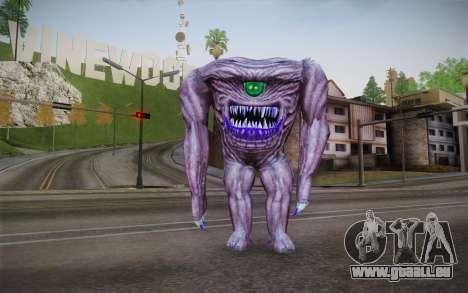 Gnaar from Serious Sam pour GTA San Andreas