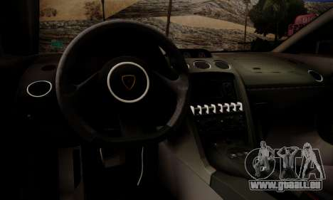 Lamborghini Gallardo LP 570-4 2011 Police v2 pour GTA San Andreas moteur