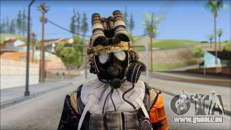 Opfor PVP from Soldier Front 2 pour GTA San Andreas troisième écran
