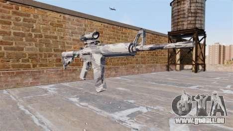Automatische Karabiner MA Grau cane Camo für GTA 4